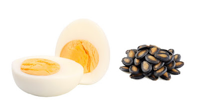 Benefits of egg yolk and watermelon seeds