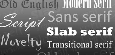 Jenis Jenis Font Beserta Contoh