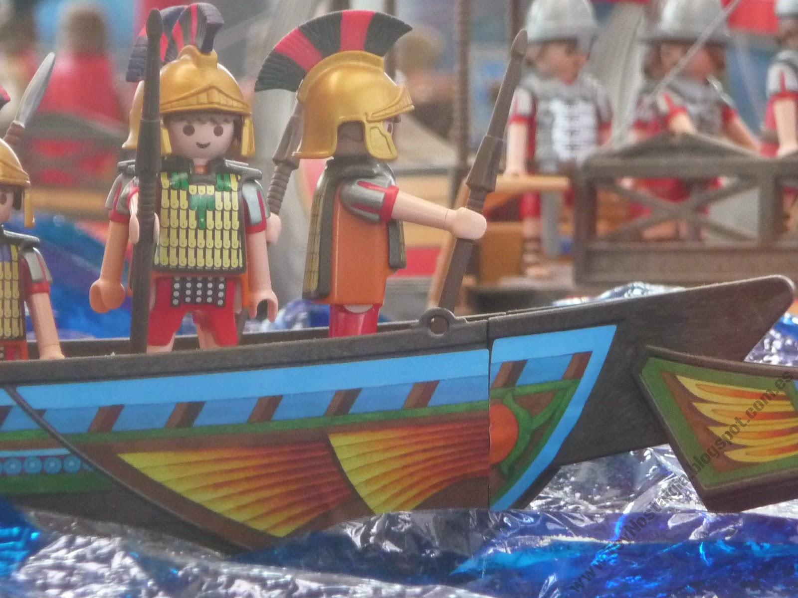 Diorama Playmobil historia history historie