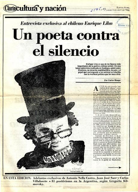 Enrique Lihn: un poeta contra el silencio