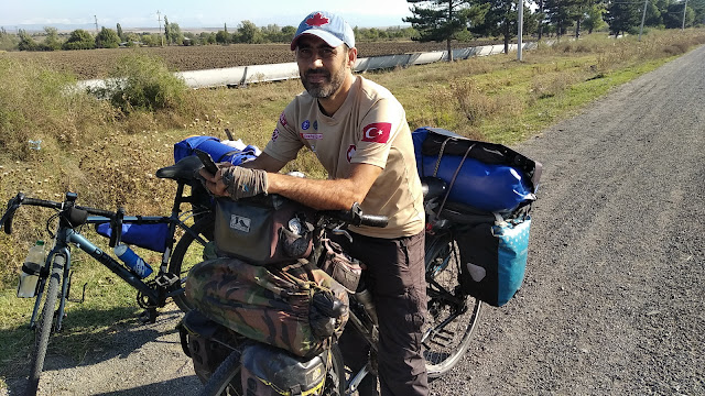 велотурист Рамил Зиядов