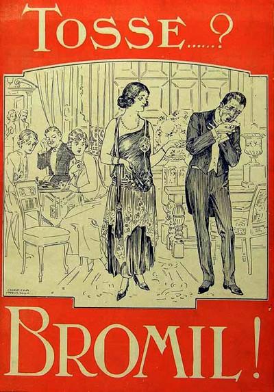 Propaganda antiga do Xarope Bromil veiculada em 1924