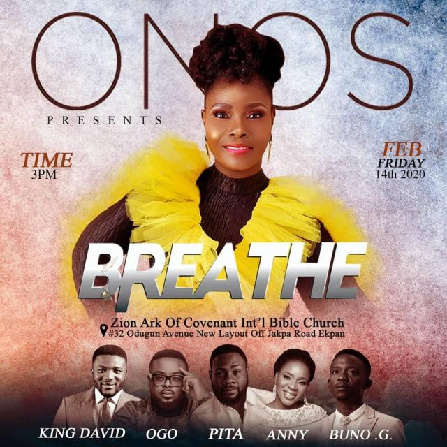 Onos Breathe Concert Tour In Warri - Gospeltrender