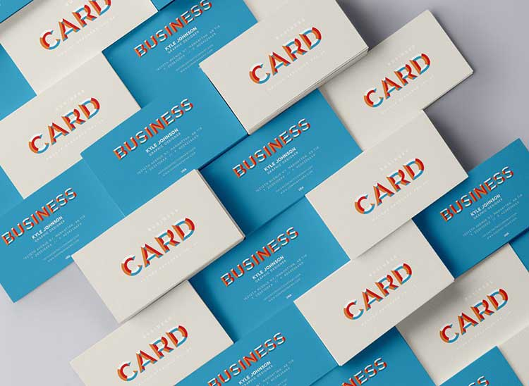 Business Card Mock-Up PSD