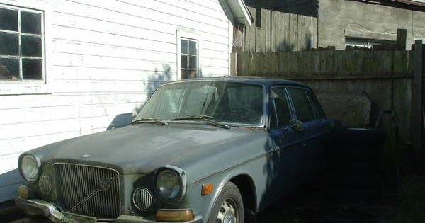 Restoration Project Cars: 1971 Volvo 164 Project For Sale