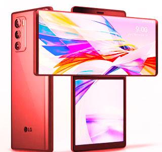هاتف LG Wing بشاشة قابلة للدوران