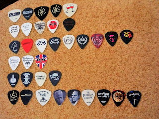 guitar picks I got in 2018