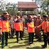 Bupati Kerinci Dampingi Gubernur Jambi pada Latihan Gabungan Penyelamatan dan Penanganan Pengungsi