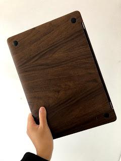MacBookを木製風にDIY・裏面