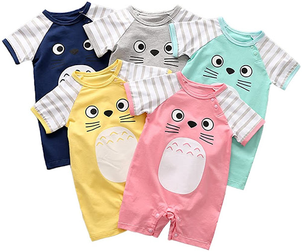 Cute Funny Unisex Baby Boys Girls Clothes