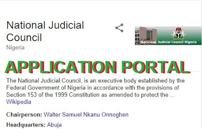 National Judicial Council Recruitment  2018 | See Complete Details Here