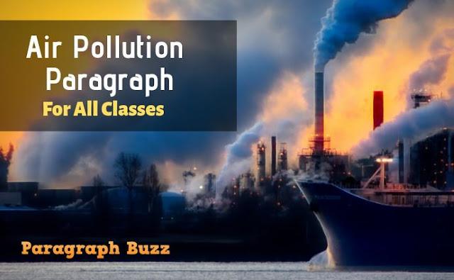 Air Pollution Paragraph
