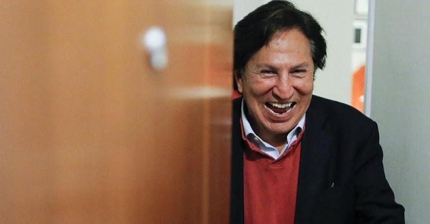 Expresidente Alejandro Toledo pide que declaren prescrito delito de tráfico de influencias que se le imputa por caso Odebrecht