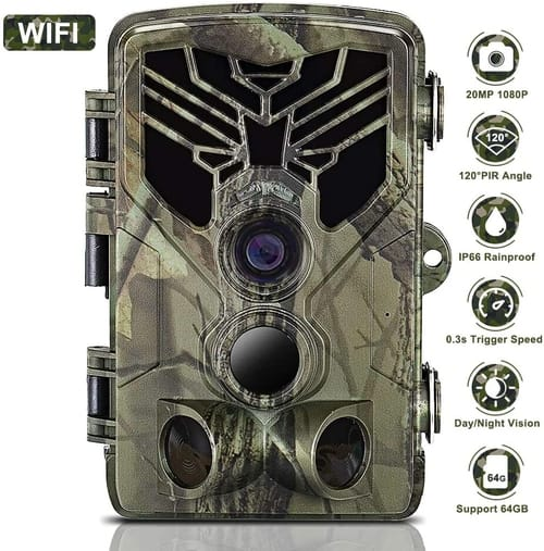 Review Taotique HCWIFI810 20MP 1080P WiFi Trail Camera