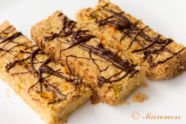 Песочное печенье с апельсином и шоколадом от Джейми Оливера