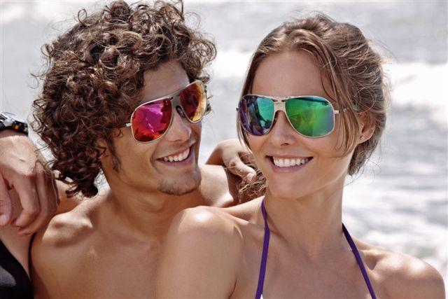 37a45a01cc1ef Onde você é única   Para usar já  óculos escuros espelhados vão para ...