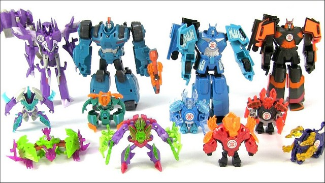 List Of Transformers >> Transformers Robots In Disguise Minicons Names