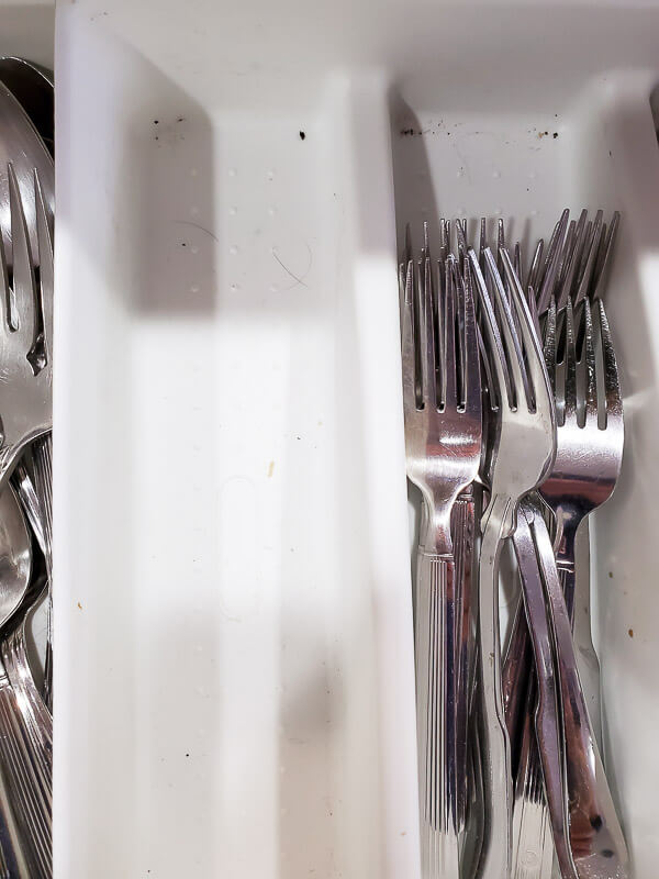 dirty utensil caddy