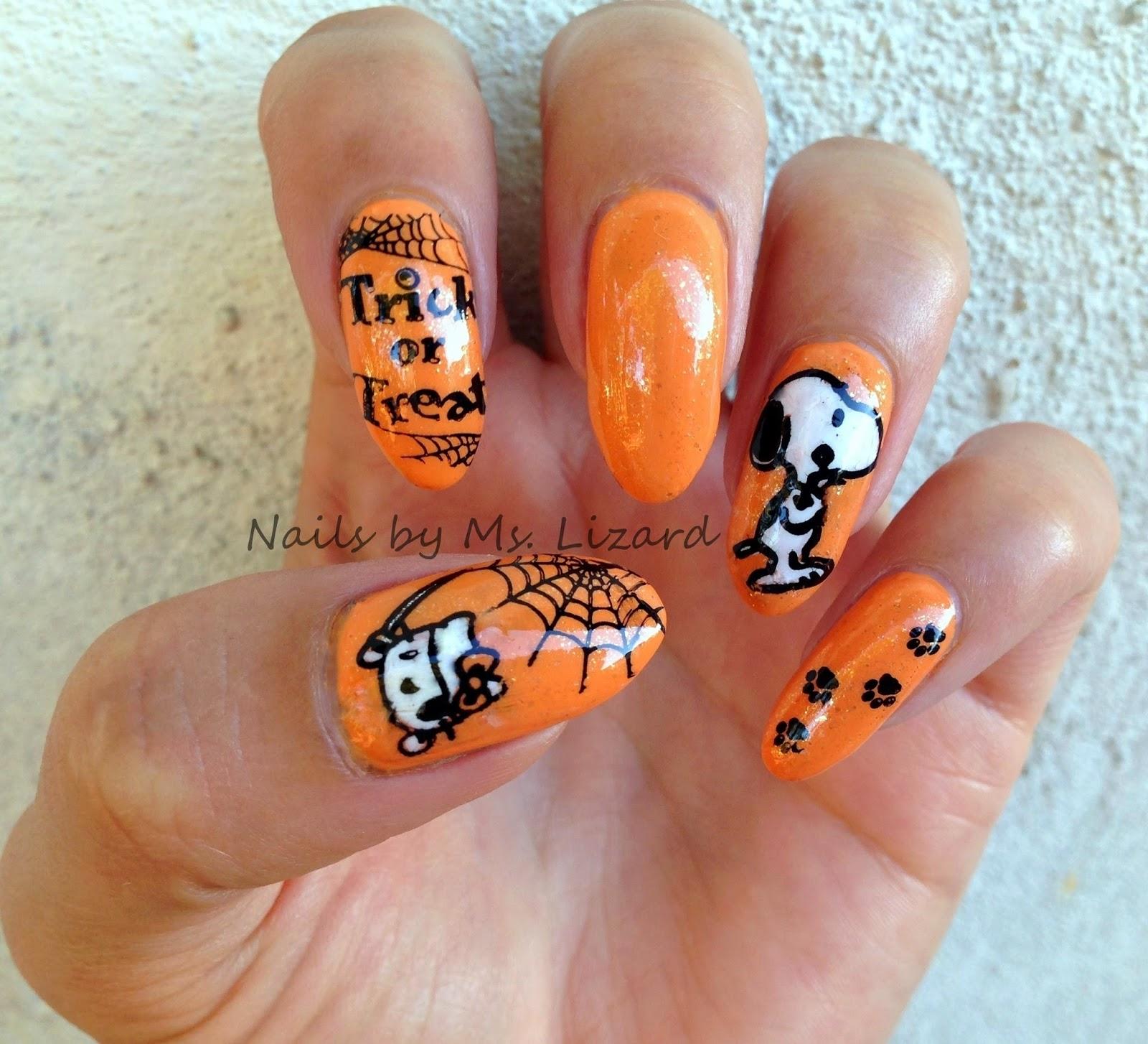 Nails by Ms. Lizard: Halloween Nail Art Ideas