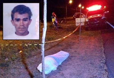 Pai é morto a bala na frente do filho de 13 anos durante assalto em Parnaíba