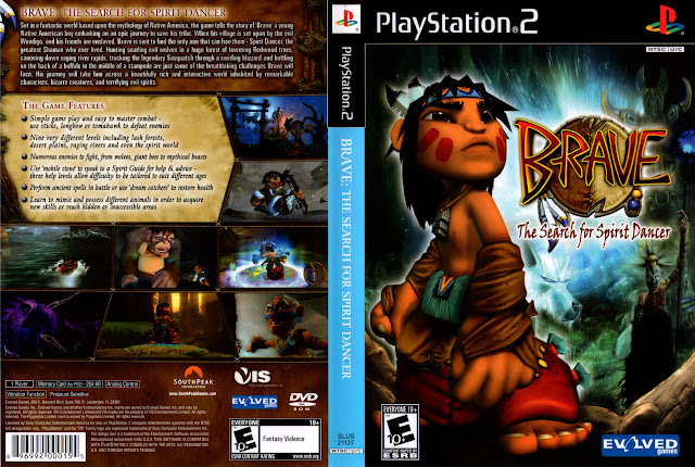 Capa PS2 Brave The Search for Spirit Dancer