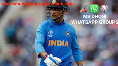 MS Dhoni Fan WhatsApp Group Joins Link