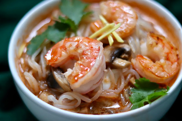 🍜 zupa curry z krewetkami