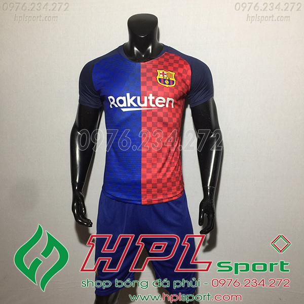 Áo bóng đá câu lạc bộ Barcelona training 2020