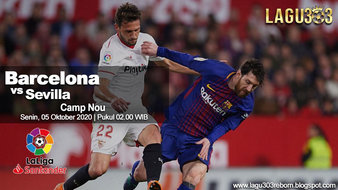 Prediksi Barcelona vs Sevilla 05 Oktober 2020 pukul 02.00 WIB