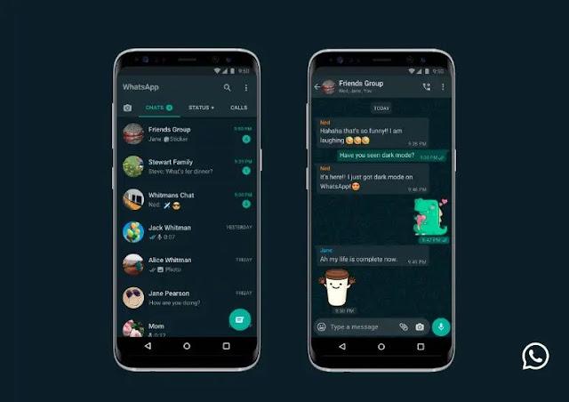 Cara Mengaktifkan Fitur Gelap atau Dark Mode di Whatsapp Web