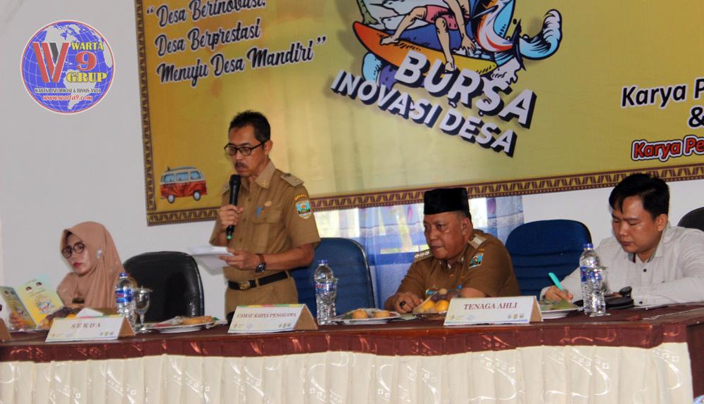 Lingga Kusuma; Inovasi Desa Dukung Teknis Penyedia Jasa Secara Professional