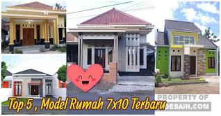 Model Rumah Minimalis Ukuran 7x10