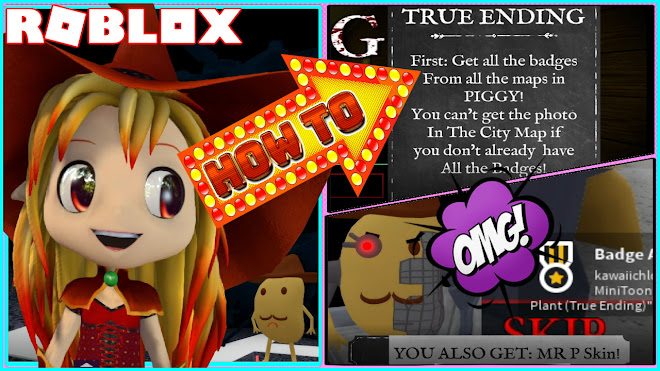 Roblox Piggy! 3 Important steps on HOW TO GET TRUE ENDING Chapter 12 Plant!