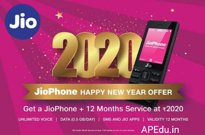 jIO 2020: Free all year round in one rechar. . Free. . Offer 2020 Happy New Year Bumper from Geo.