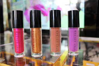 Stay Golden Cosmetics launches in JAMAICA | Glitter Lip Kits