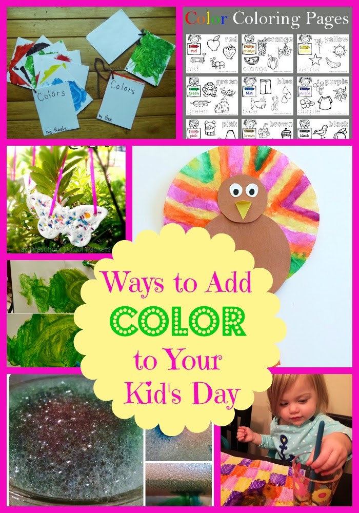 Ways to Add Color to Your Kid's Day from Mom's Library