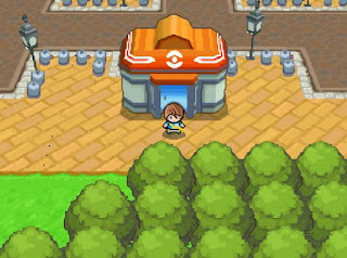 Pokemon La Leyenda Oscura para NDS Centro Pokemon