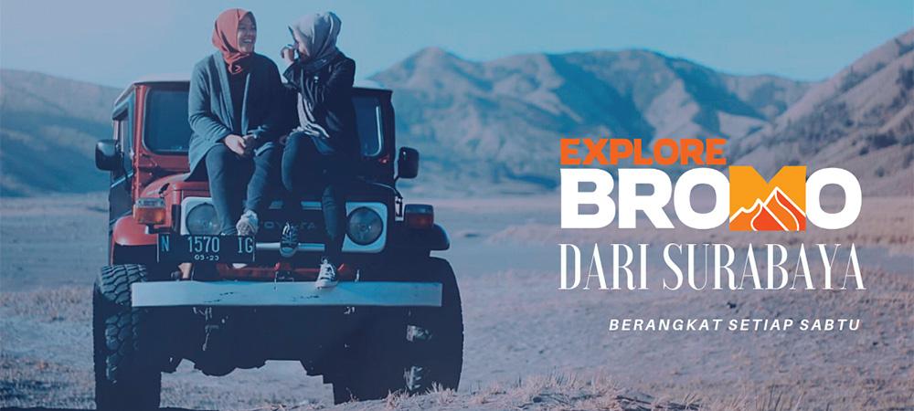 open trip bromo dari Surabaya setiap weekend