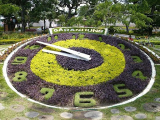 relógio de flores de garanhuns
