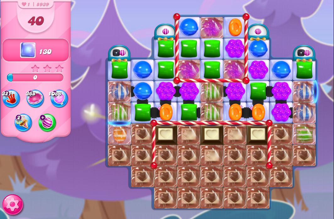 Candy Crush Saga level 8939