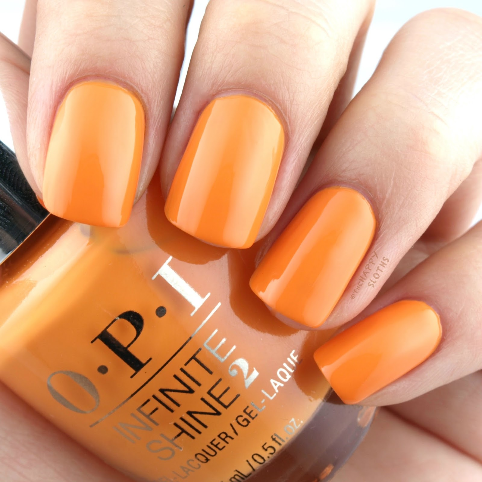 OPI Fiji No Tan Lines Swatches and Review