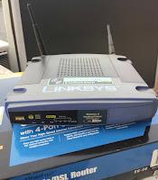 konfigurasi dua router perangkat nirkabel