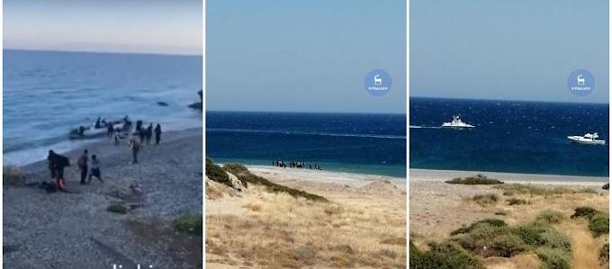 Ρόδος: Μαζικές Αποβάσεις Παράνομων Μεταναστών Σε Παραλίες Του Νησιού