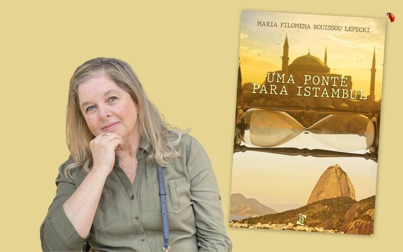 """Objetos controversos como o Mapa de Piri Reis e o helicóptero de Abydos fazem de """"Uma Ponte para Istambul"""" uma enciclopédia histórica em meio a um romance sobre a busca da identidade"""