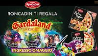 Logo Pizza Extravoglia Roncadin regala Gardaland : premio certo