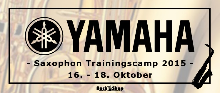 Yamaha Rock Shop Saxophoncamp 2015