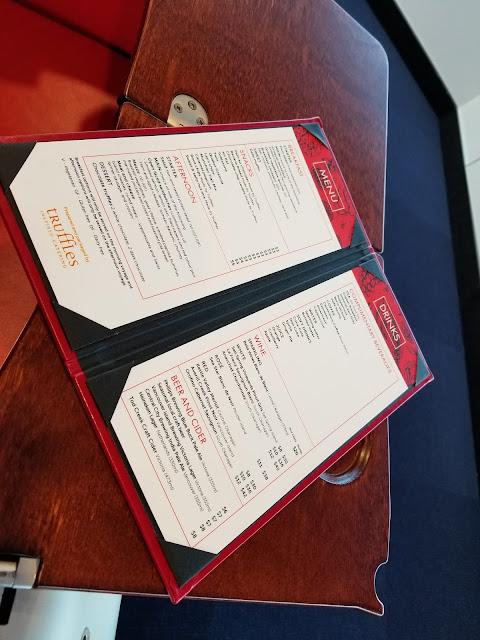 v2v royal class menu