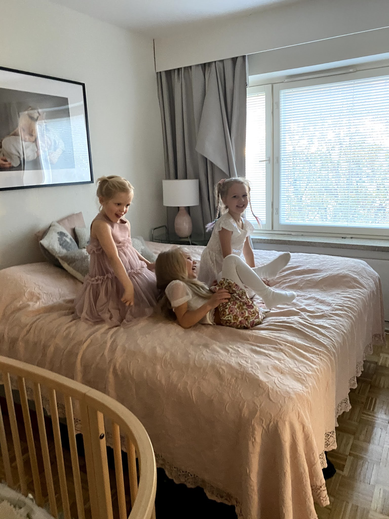 Pikku-Sophien Pariisi yksivuotissynttäreillä oli tunnelma katossa