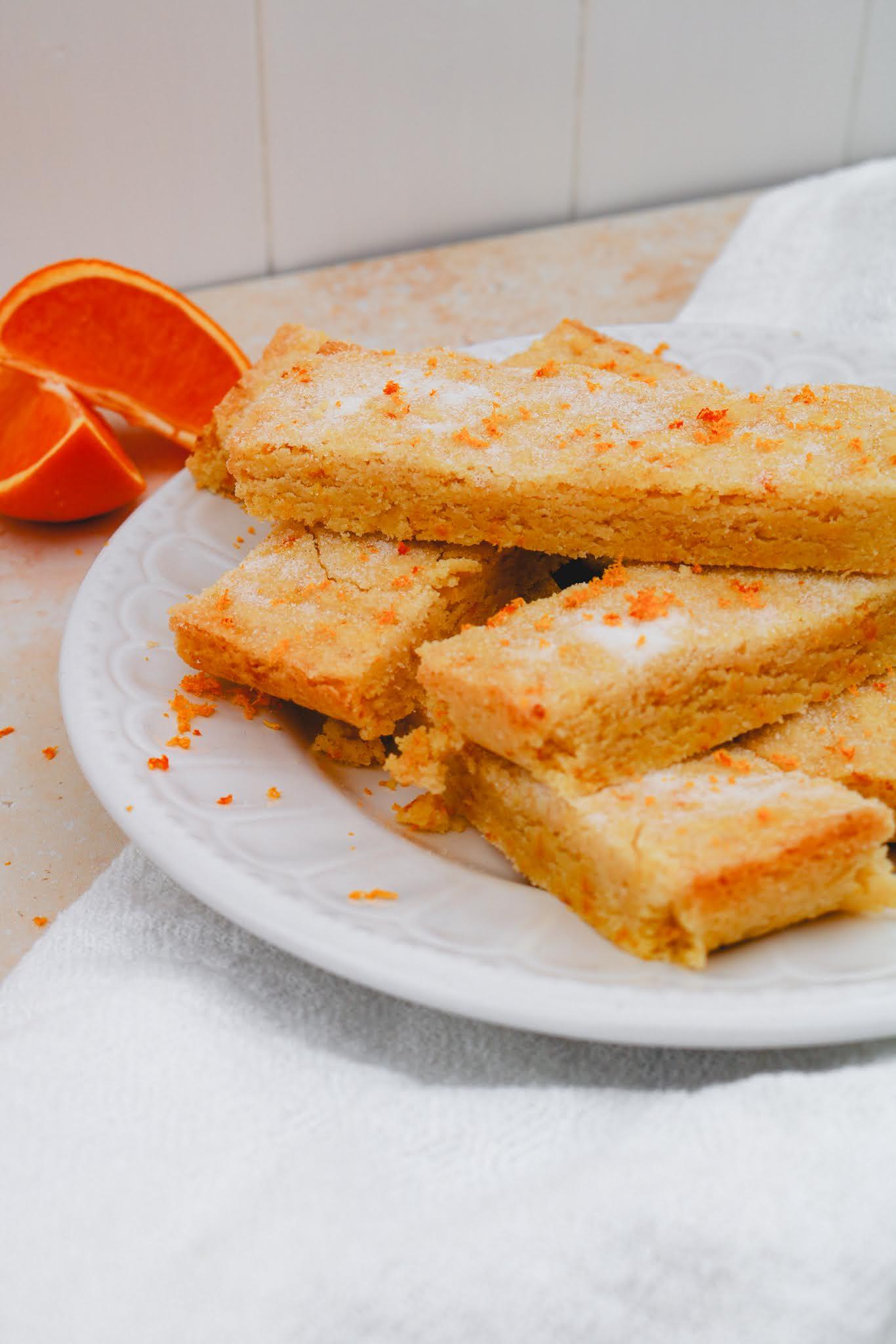 Small Batch Orange Shortbread | Take Some Whisks