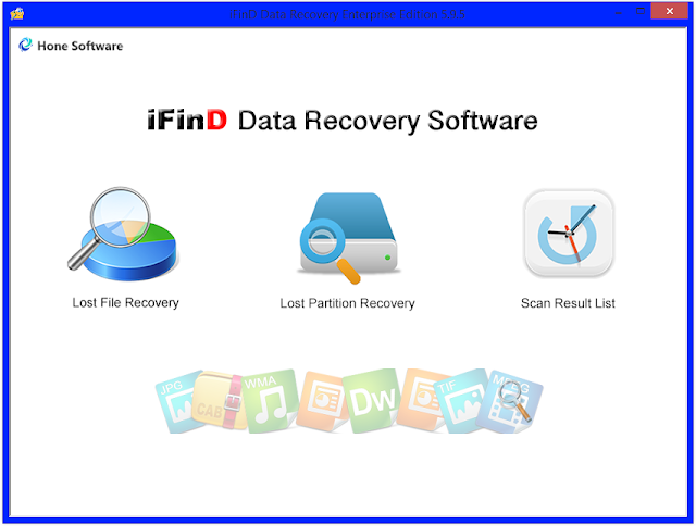 Screenshot iFind Data Recovery Enterprise 5.9.5 Full Version
